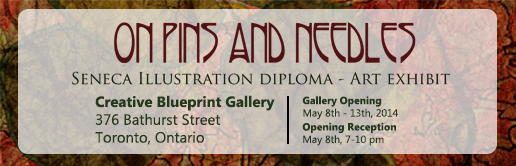 Grad show at Creative Blueprint Gallery!